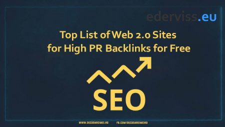 Top List of Web 2.0 Sites for High PR Backlinks for Free