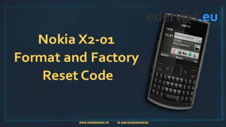 Nokia X2-01 Format and Factory Reset Code